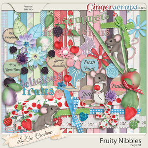 Fruity Nibbles Page Kit