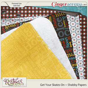 Get Your Skates On Shabby Papers