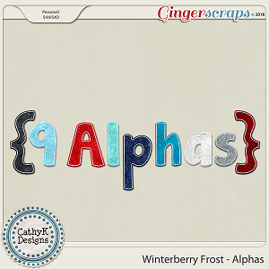 Winterberry Frost - Alphas