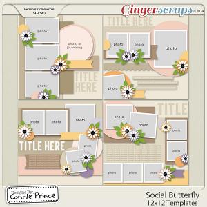 Social Butterfly - 12x12 Temps (CU Ok)