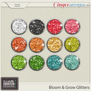 Bloom & Grow Glitters by Aimee Harrison