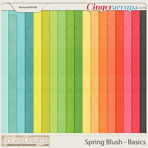 Spring Blush - Basic Papers