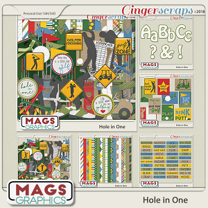 Hole In One Golf BUNDLE by MagsGraphics