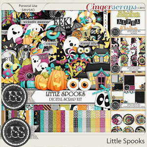 Little Spooks Digital Scrapbooking Collection