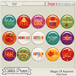 Magic Of Autumn - Flair Pack