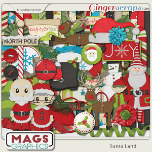 Santa Land KIT by MagsGraphics