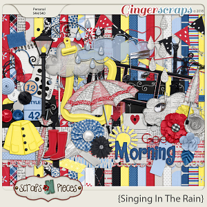 Singing In The Rain Kit by Scraps N Pieces