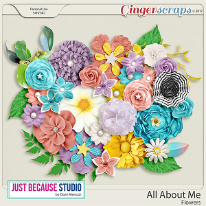 All About Me Flowers by JB Studio