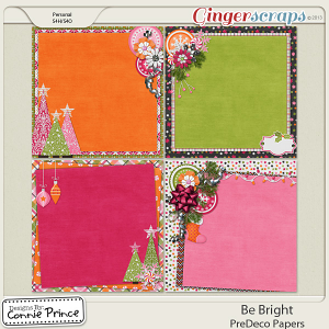 Be Bright - PreDeco Papers