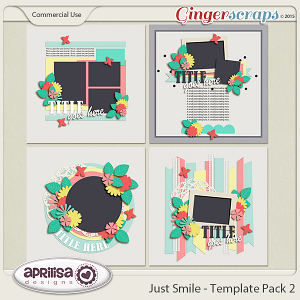 Just Smile - Template Pack 2