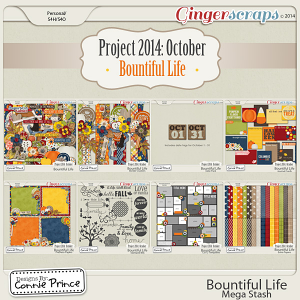 Project 2014 October: Bountiful Life - Mega Stash