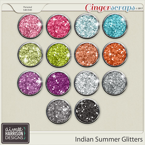 Indian Summer Glitters by Aimee Harrison
