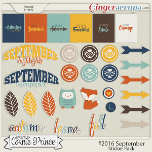 #2016 September - Sticker Pack