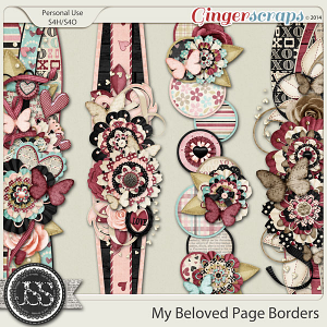 My Beloved Page Borders