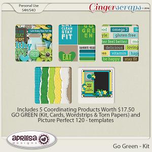 Go Green - iNSD Grab Bag by Aprilisa Designs