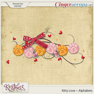 Kitty Love Alphabets