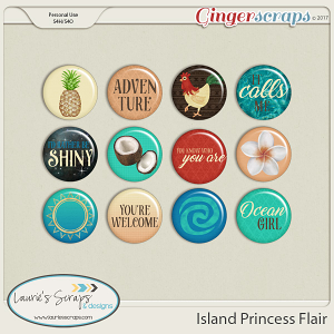 Island Princess Flairs