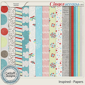 Inspired Paper Pack: by CathyK Designs