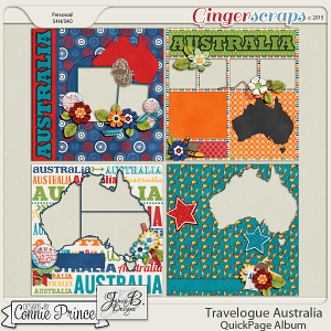 Travelogue Australia - QuickPage Album