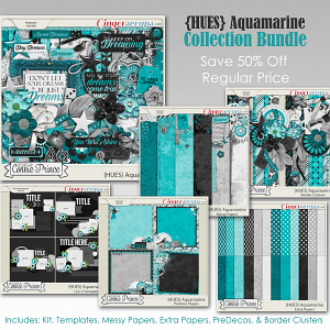 {HUES} Aquamarine - Bundle