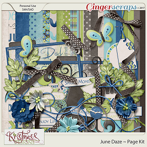 June Daze Page Kit
