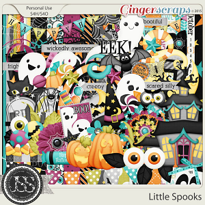 Little Spooks Digital Scrapbooking Kit