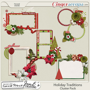 Holiday Traditions - Cluster Pack