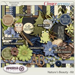 Nature's Beauty - Kit by Aprilisa Designs