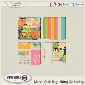 March Grab Bag - Bring On Spring