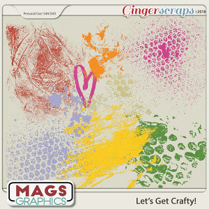 Let's Get Crafty HODGE PODGE by MagsGraphics