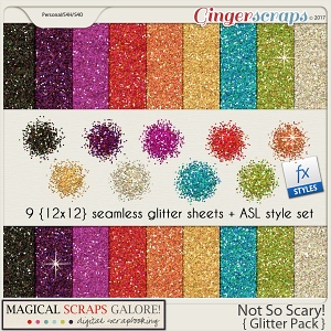 Not So Scary! (glitter pack)