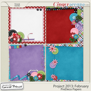 Project 2013: February - PreDeco Papers