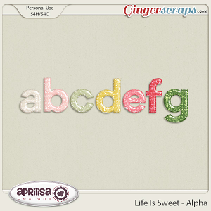 Life Is Sweet - Alpha by Aprilisa Designs