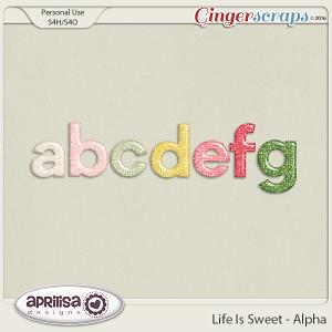 Life Is Sweet - Alpha by Aprilisa Designs
