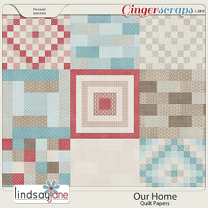 Our Home Quilt Papers by Lindsay Jane