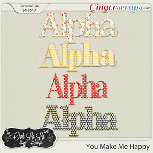 You Make Me Happy Alphabets