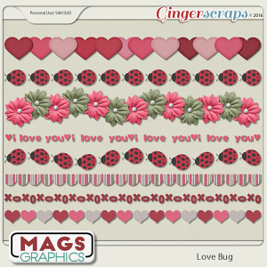 Love Bug TRIMS by MagsGraphics
