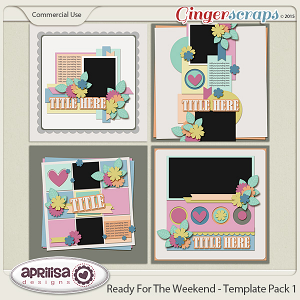 Ready For The Weekend - Template Pack 1