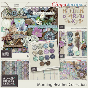 Morning Heather Collection by Aimee Harrison