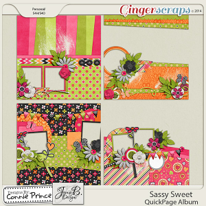 Sassy Sweet - QuickPage Album