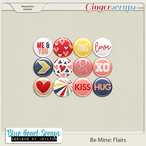 Be Mine Flair Pack