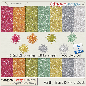 Faith, Trust And Pixie Dust - Glitter Pack