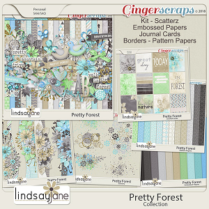 Pretty Forest Collection by Lindsay Jane