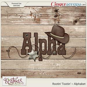 Rootin' Tootin' Alphabet
