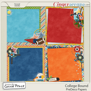 College Bound - PreDeco Papers