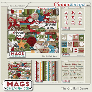 Old Ball Game BUNDLE by MagsGraphics