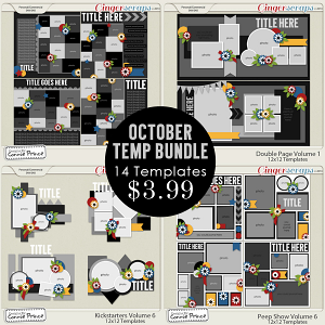 October 2014 Template Bundle