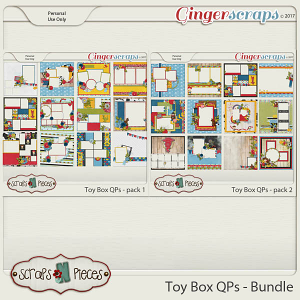 Toy Box Quick Page Bundle