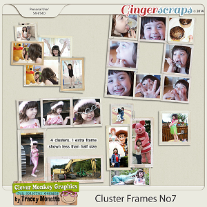 Cluster Frames No7 by Clever Monkey Graphics