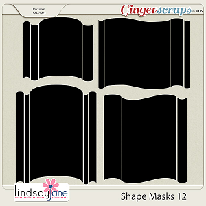 Shape Masks 12 by Lindsay Jane